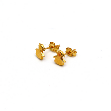 Real Gold Barbie Girl Earring Set 0054 K1226