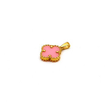 Real Gold VC Pink M Pendant P 1651
