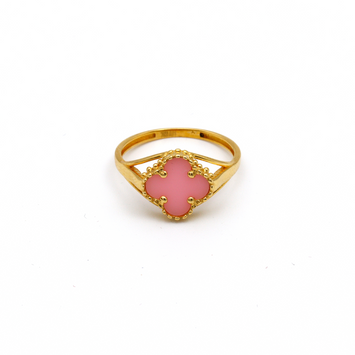Real Gold VC Pink M Ring (SIZE 8) R1438