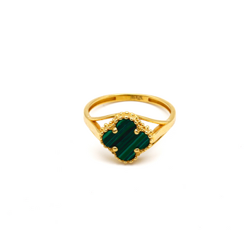 Real Gold VC Green M Ring (SIZE 8) R1439