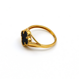 Real Gold VC Black M Ring (SIZE 7.5) R1440