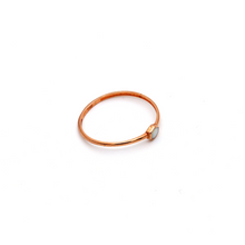 Real Gold Rose Gold Ring (SIZE 7.5) R1674 - 18K Gold Jewelry
