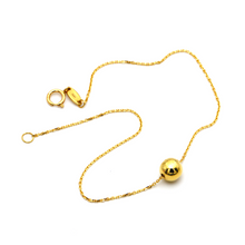 Real Gold Ball Bracelet 0975 BR1378 - 18K Gold Jewelry