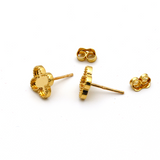 Real Gold VC M Mirror Earring Set 3050 E1544