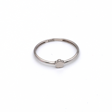 Real Gold Star White Gold Ring (SIZE 7.5) R1481 - 18K Gold Jewelry
