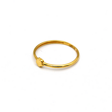 Real Gold Star Ring (SIZE 7.5) R1483 - 18K Gold Jewelry