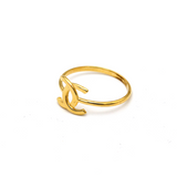 Real Gold CH Ring (SIZE 7) R1492