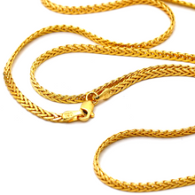 Real Gold Chain (60 C.M) 8943 - 18K Gold Jewelry