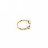 Real Gold Sharp Arrow Gold Ring (SIZE 5.5) R1537