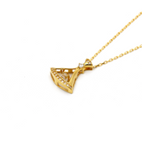 Real Gold BV Necklace N1190