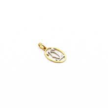 Real Gold 2C C H Pendant P 1608 - 18K Gold Jewelry