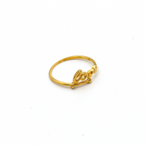 Real Gold Love Ring (SIZE 7) R1558