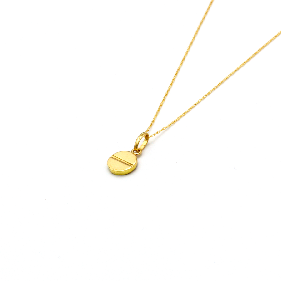 Real Gold CR Necklace 2020-A