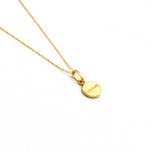 Real Gold CR Necklace 2020-A CWP1241 - 18K Gold Jewelry