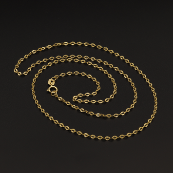 Real Gold Cable Chain CH1053 (50 C.M)