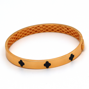 Real Gold LV Rose Gold Bangle (SIZE 17) BA1201