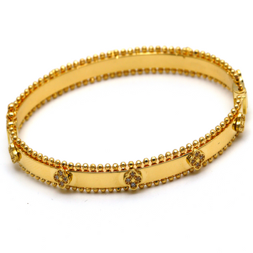 Real Gold VC Bangle (SIZE 17) BA1204