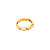 Real Gold CR Ring (SIZE 8) R1576