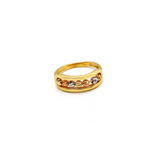Real Gold 3 Color Messika Gold Ring (SIZE 6.5) R1579