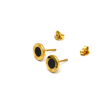 Real Gold LV Earring Set E1595