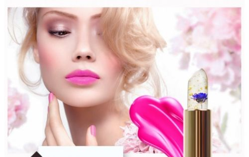 Color Changing Flower Jelly Lipstick