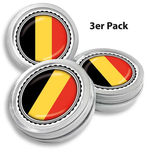 FAN MINT | 3er Set Pfefferminz Bonbons mit Belgien Fahne