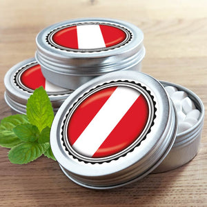 FAN MINT | 3er Set Pfefferminz Bonbons mit Peru Fahne