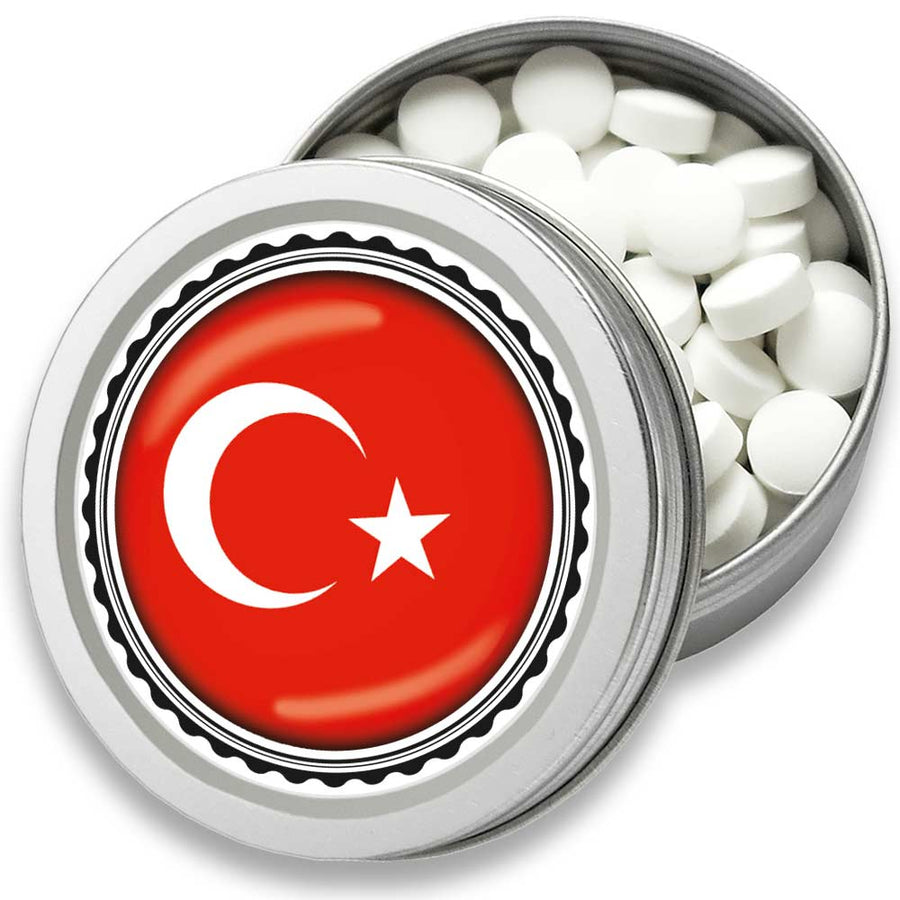FAN MINT | 3er Set Pfefferminz Bonbons mit Türkei Fahne