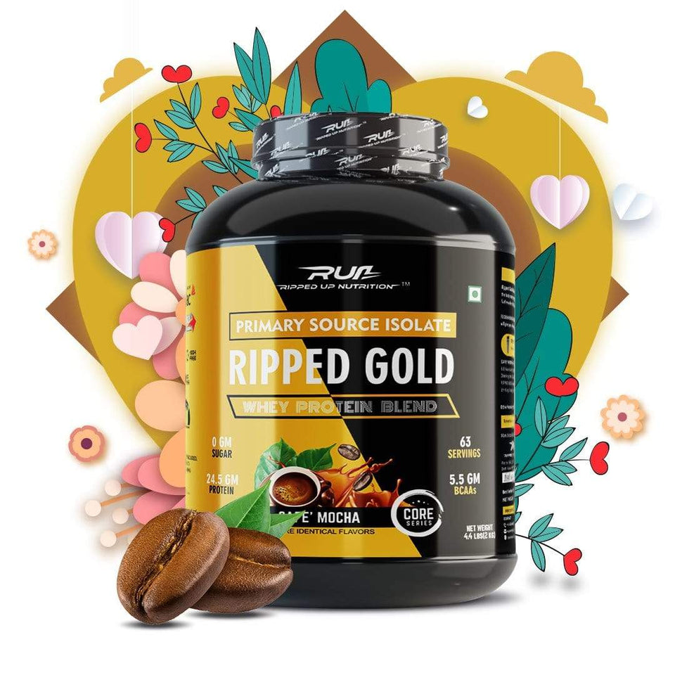 Whey Ripped Gold- 5LBS(2.27KG)