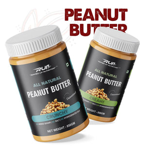 Natural Peanut Butter (Pack of 2) Health Supplement Ripped Up Nutrition