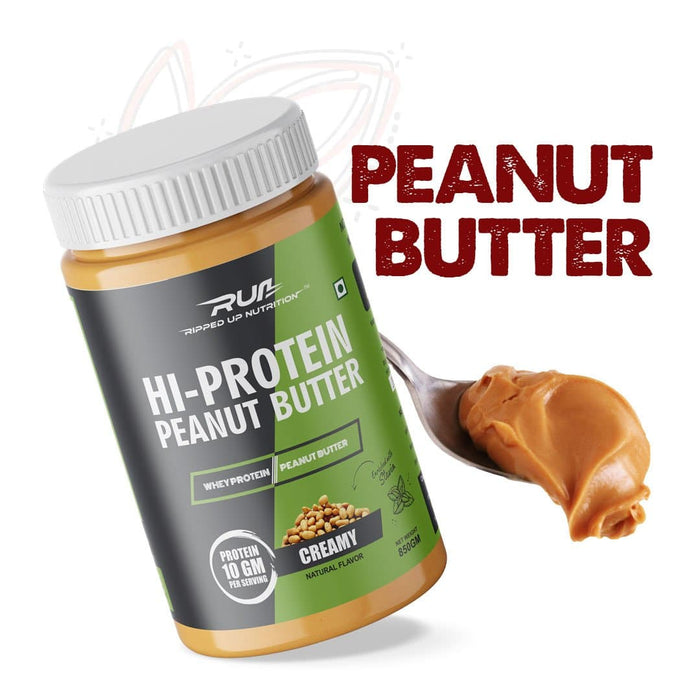 Hi-Protein Peanut Butter Health Supplement Ripped Up Nutrition