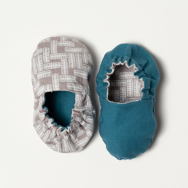 Teal and Grey Tires Baby Collection