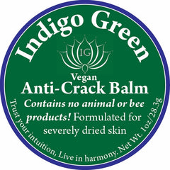 Vegan Anti-Crack Balm - IndigoGreenProducts