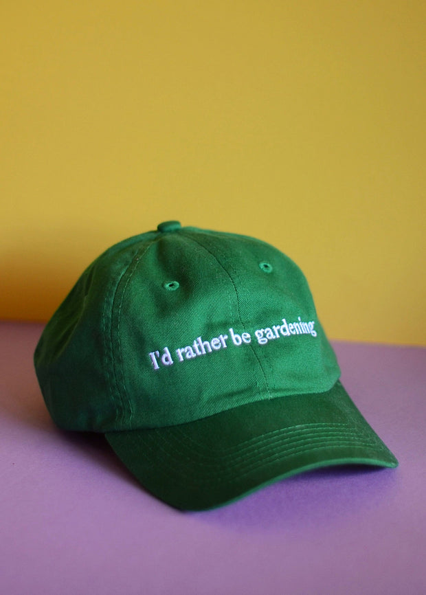 I\'d Rather Be Gardening Hat – Sow Exotic
