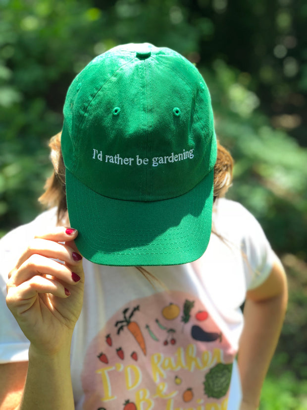 I'd Rather Be Gardening Hat