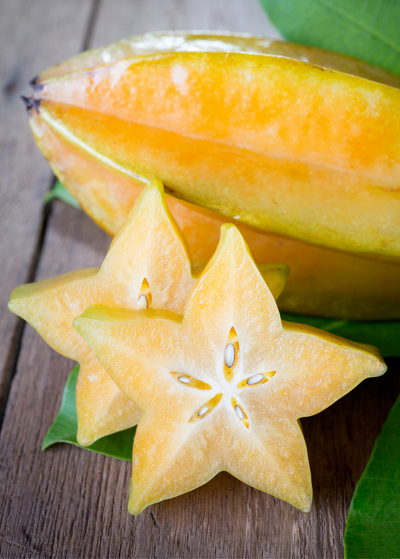 Star Fruit 'Arkin' (Averrhoa carambola)