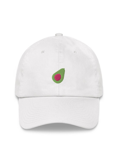 Avocado Embroidered Dad Hat