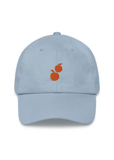 Orange Ya Glad Embroidered Dad Hat