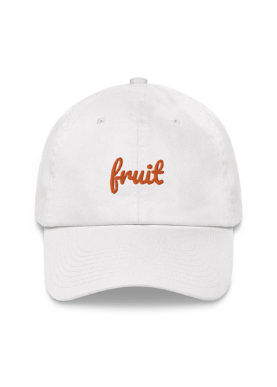 Fruit Embroidered Dad Hat