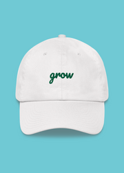 Grow Embroidered Dad Hat