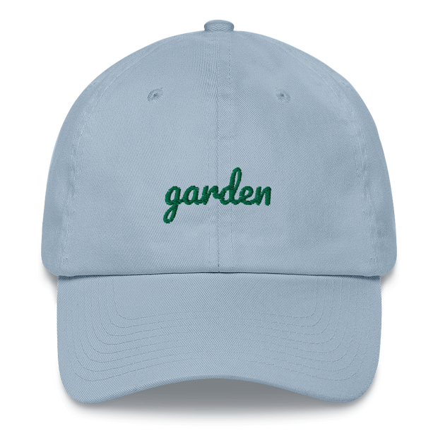 Garden Embroidered Dad Hat