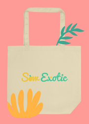 Sow Exotic Organic Eco Tote Bag