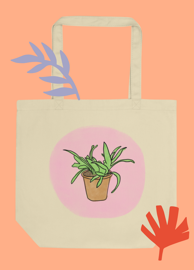 Powered By Plants Organic Eco Tote Bag