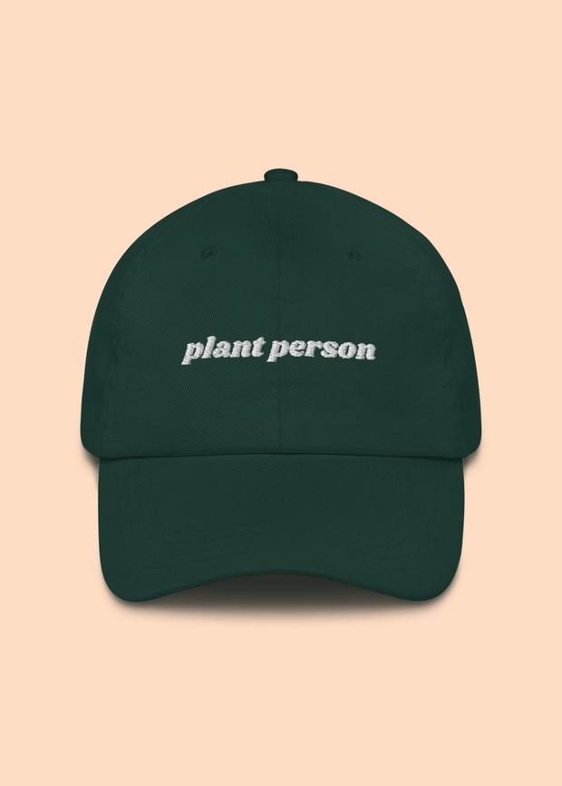 Plant Person Dad Hat