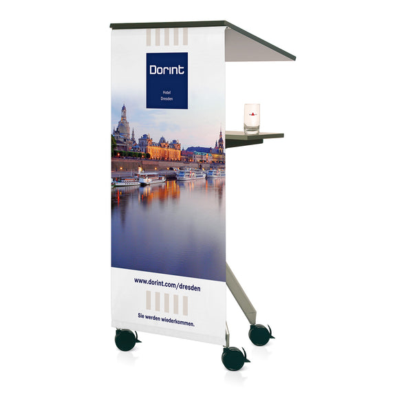 Display curtain for ToMove 2 Lectern