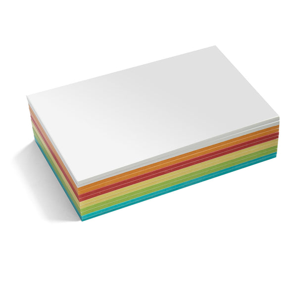 300 Rectangular Stick-It Maxi-Cards, assorted