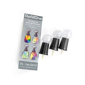 Ink Refill lid for RefillOne, 3/set