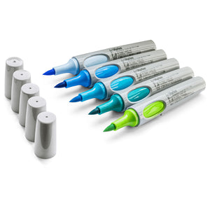 Neuland No.One® Art, brush nib 0,5-7 mm: 5/sets