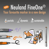 Neuland FineOne® Art, 0.5-7 mm – single colors