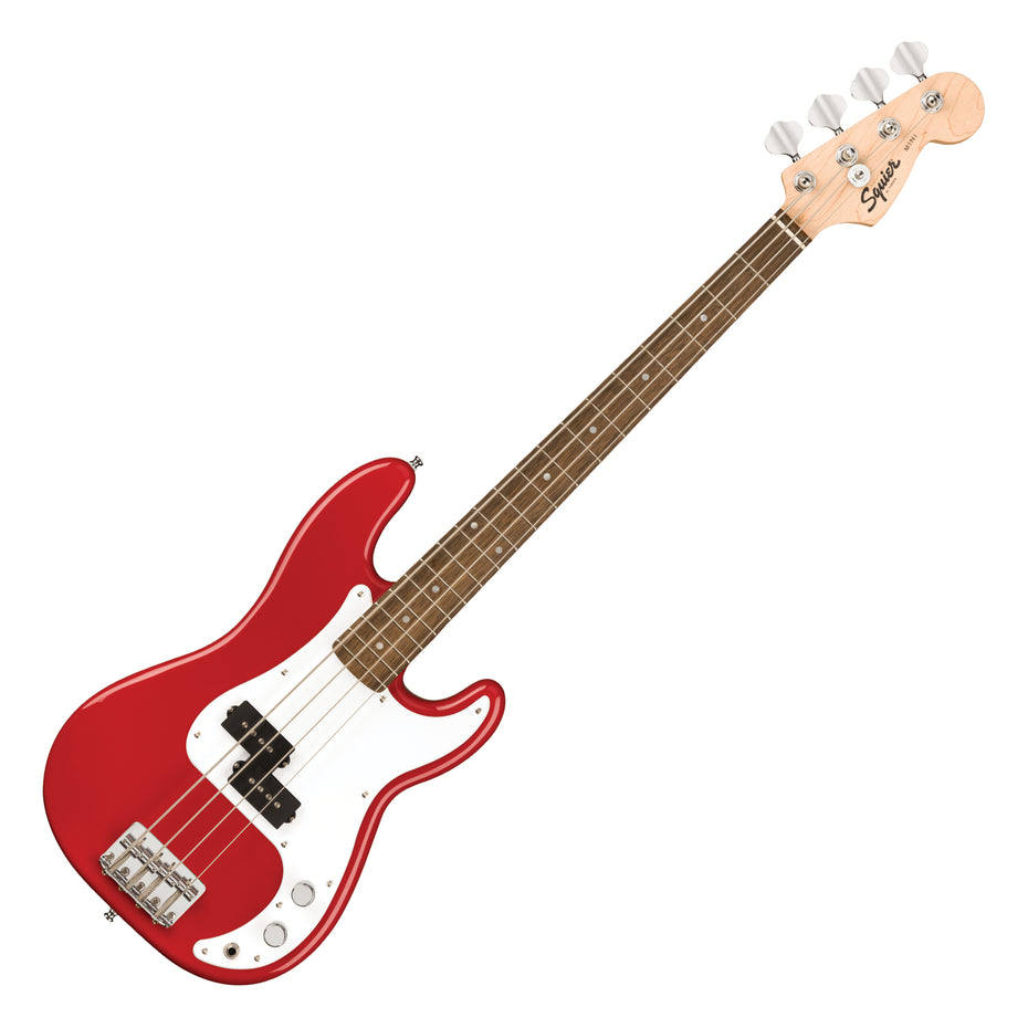 037-0127-554 - Squier Mini Precision bass guitar Dakota Red